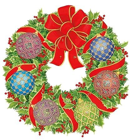 CHRISTMAS BAUBLE DIE CUTS X 14