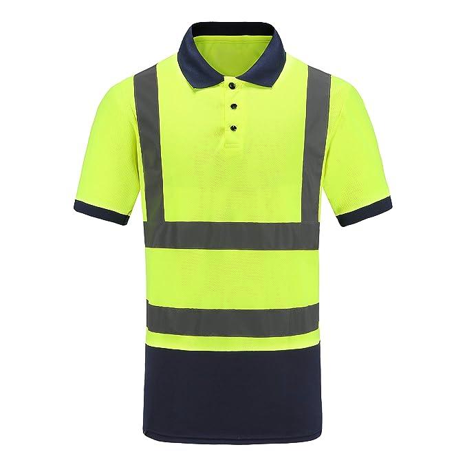 AYKRM Alta Visibilidad Camisetas y Polos: Amazon.es: Ropa y accesorios