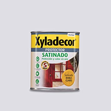 Xyladecor Protector para madera Satinado Roble Claro 750 ml ...