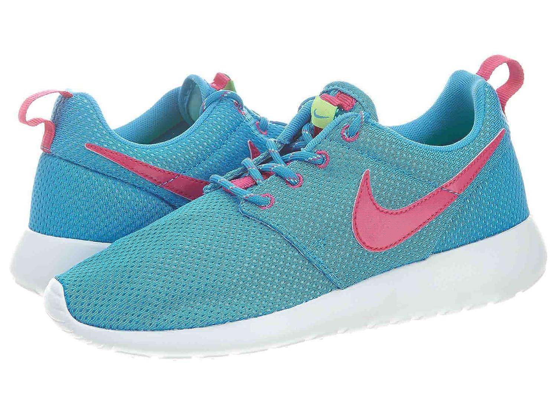 Nike Roshe Run 599729, Mauml;dchen Laufschuhe Training  38|Wd blue /vvd pnk-wht vlt-tc