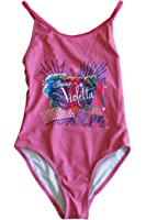disney violetta-maillot de bain-rose clair-fille