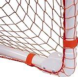 Park & Sun Sports Bungee-Slip-Net Replacement Nylon Goal Net: Soccer/Multi-Sport Goal, Orange, 12' W x 6' H x 4' D