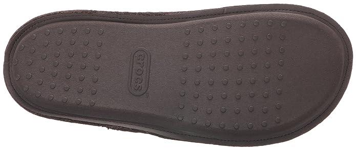 Classic Slipper, Chaussons Mixte Adulte - Bleu (Nautical Navy/Oatmeal), 33-34 EU (M1/W2 UK)Crocs