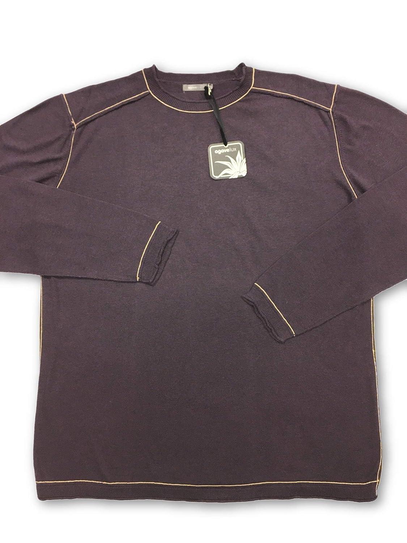 Agave Cotton Knitwear in Burgundy Größe M Cotton