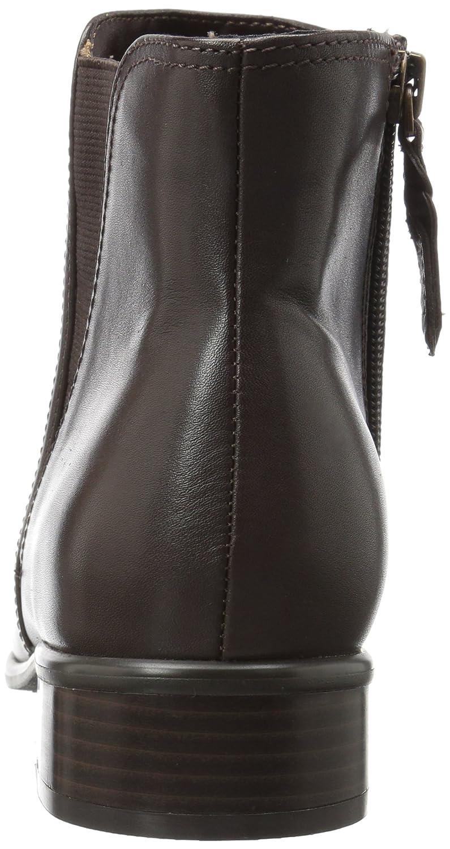 SoftWalk Women's Urban Ankle Bootie B01MQYG5NE 11 W US|Dark Brown