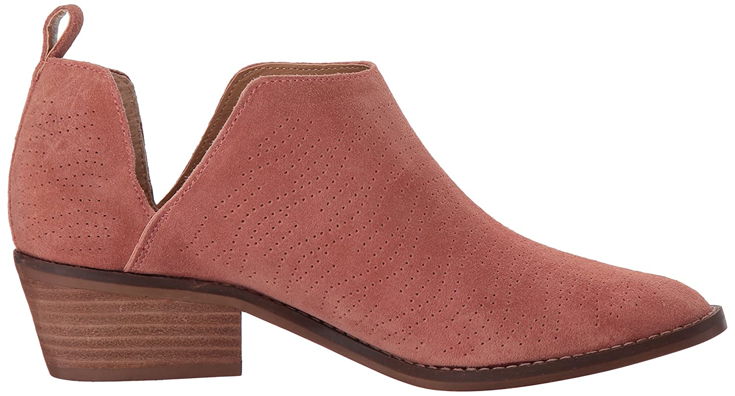 Lucky Brand Women's Fayth Ankle Boot B077G7SGDZ 6.5 M US|Canyon Rose