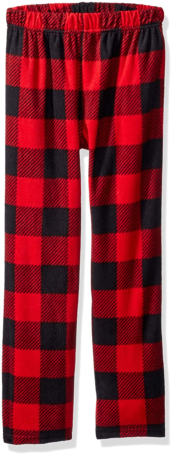 Komar Kids Boys' Big Buffalo Plaid Pajama Pant