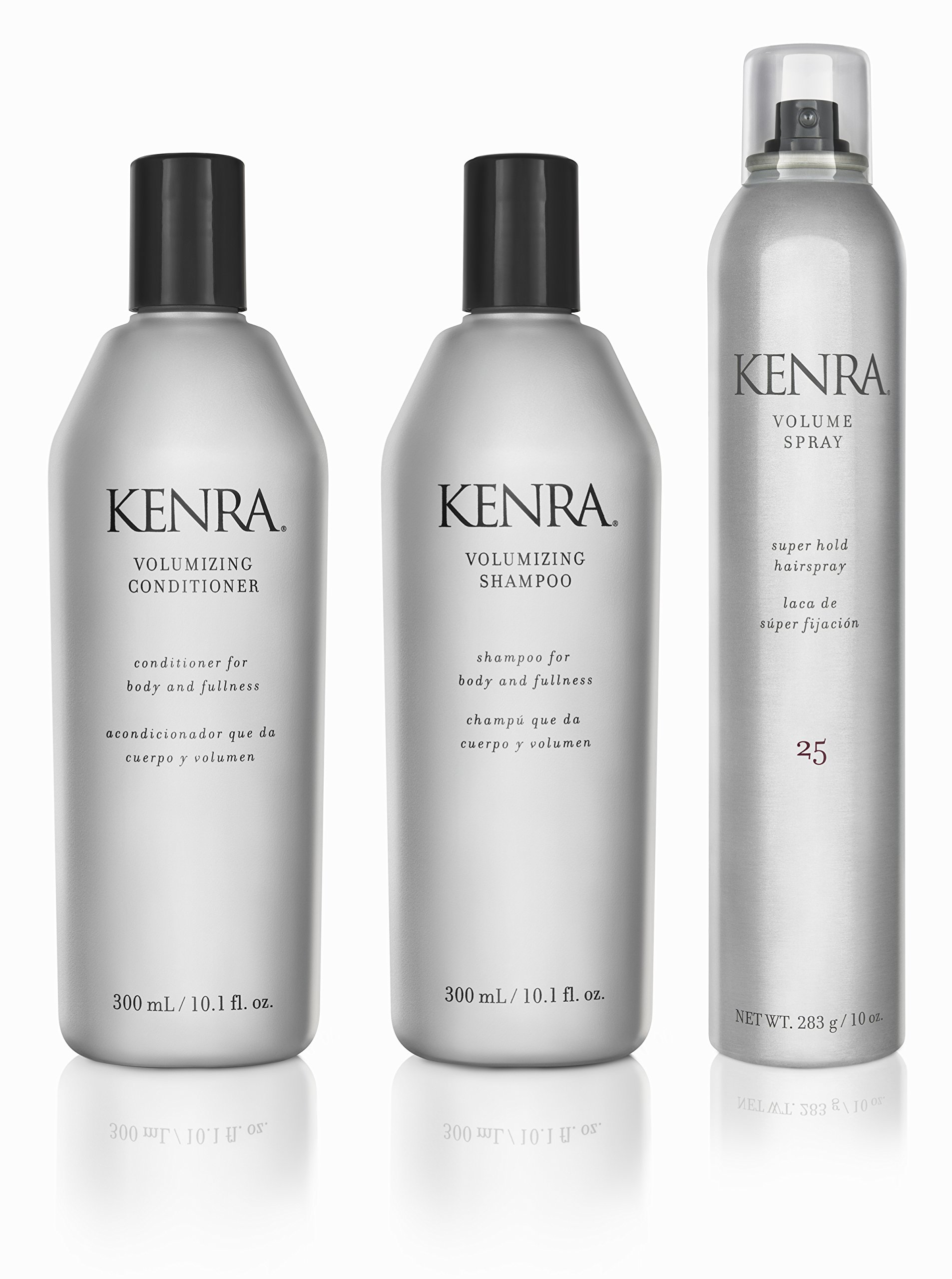 Kenra Volume Shampoo Conditioner Hairspray Gift Set by Kenra