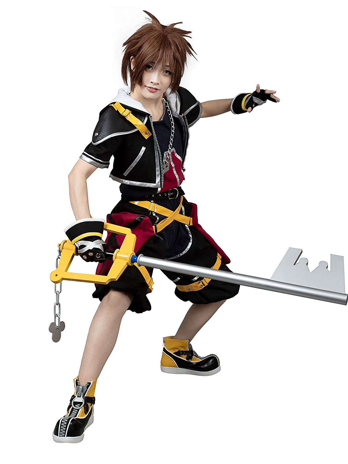cosfantasy Kingdom Hearts Sora 1TH ver traje de Cosplay ...