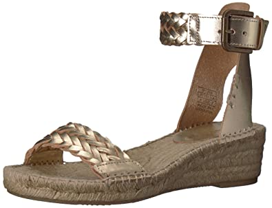 f24fe290413 Soludos Women s Woven Demi Wedge Open Toe Sandal Espadrille