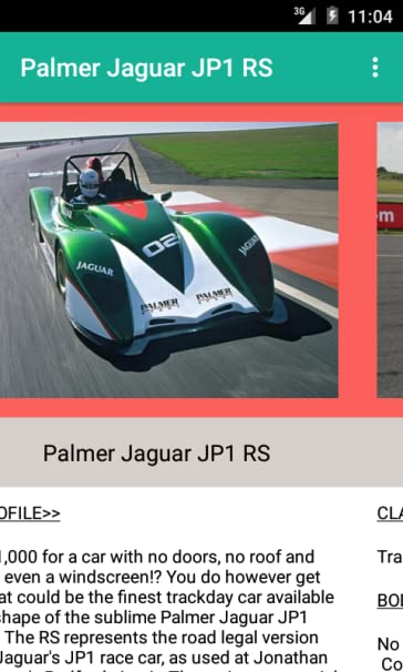 Amazon com: Palmer Jaguar JP1 RS: Appstore for Android