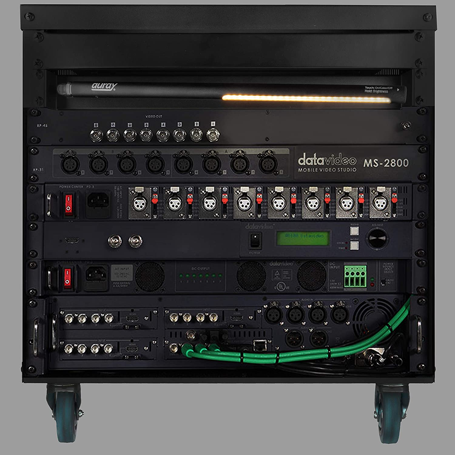 Auray LED18-RM-R Rack Mount LED with Removable Work Light