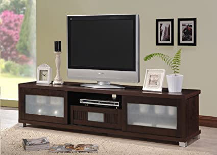Amazon Baxton Studio Wholesale Interiors Gerhardine Wood Tv