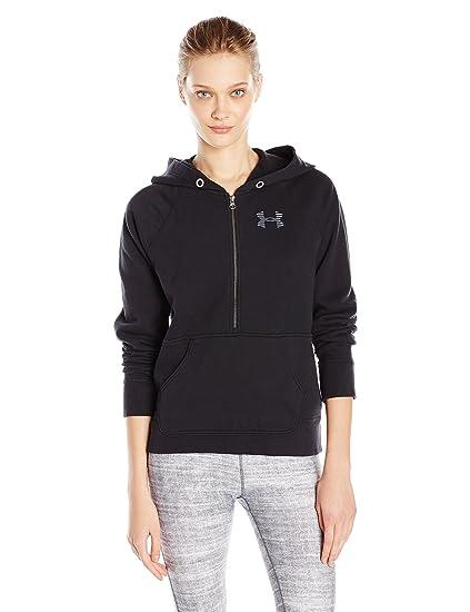 buy online cd816 dd11c Amazon.com   Under Armour Women s Favorite Fleece 1 2 Zip   Clothing