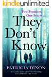They Don't Know: a beautiful novel about the promises we make