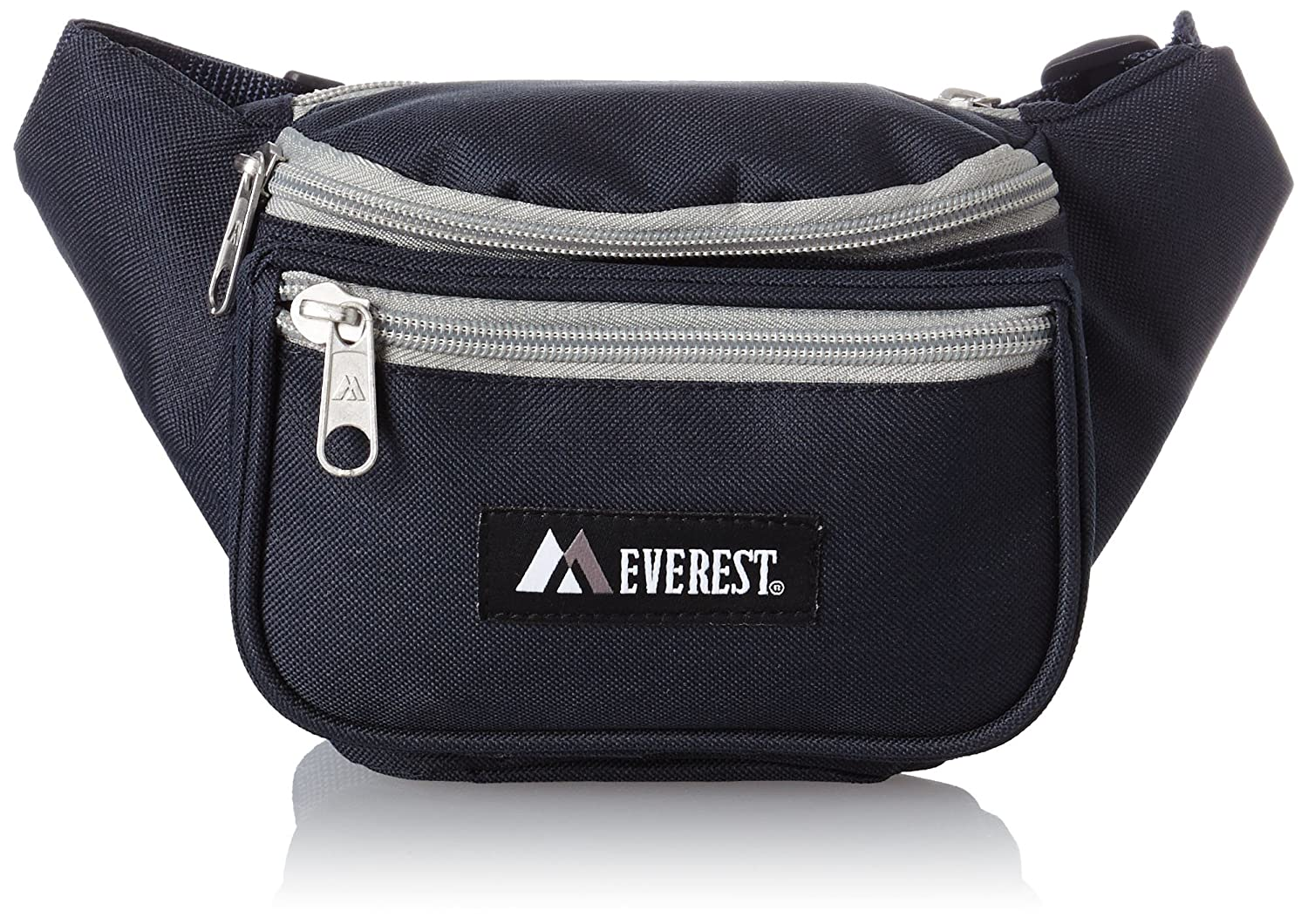 9161c08f6f95 Everest Signature Waist Pack - Standard, Navy/Gray, One Size