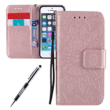 coque portefeuille iphone 5 fille
