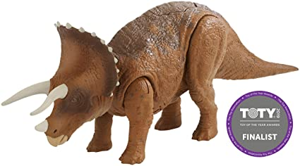Jurassic World Roarivores Triceratops Action Figures