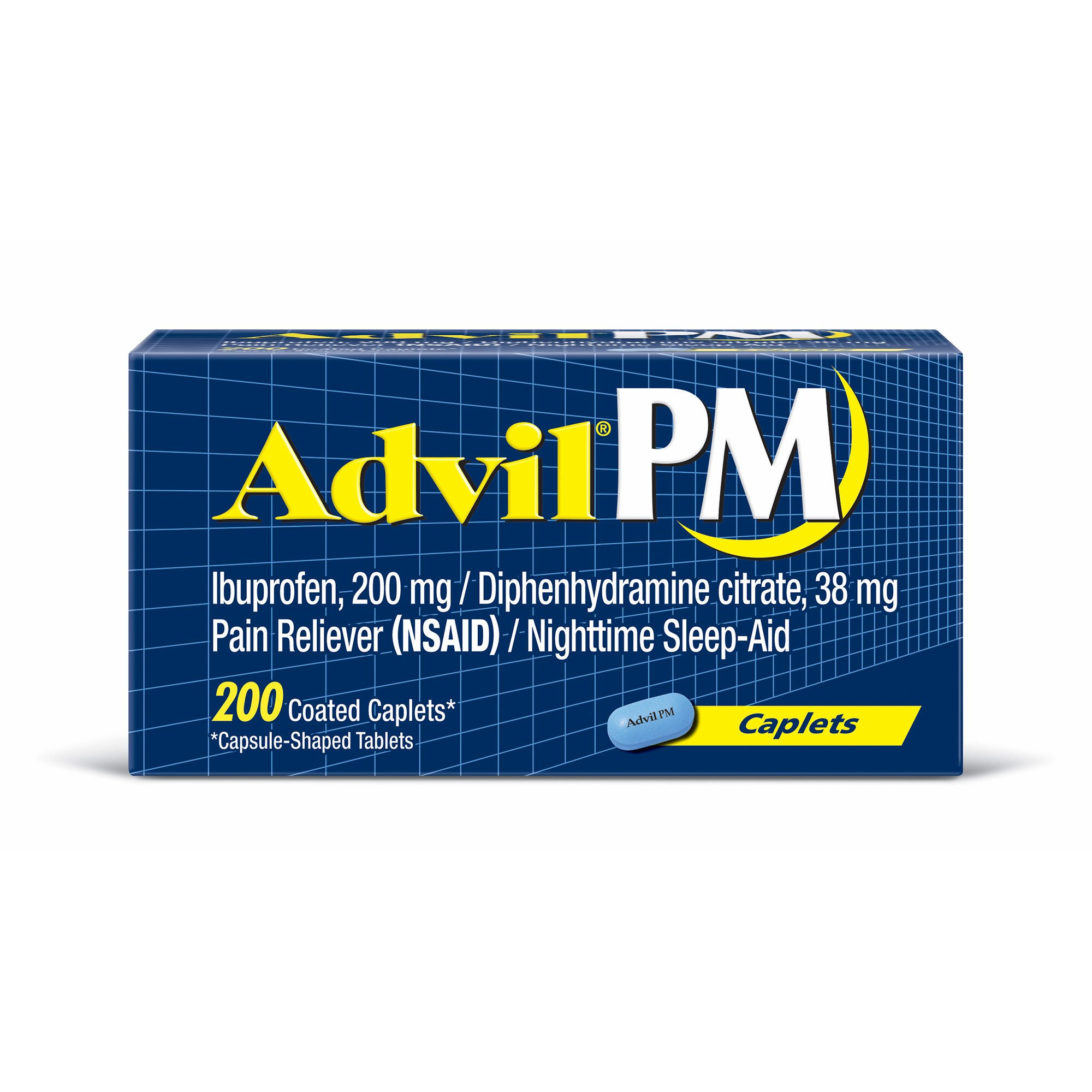 Advil PM Pain Reliever, 200 ct. (pack of 6)