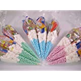 20 x Pre Filled Sweet Cones Kids Party Bags Children's Birthday