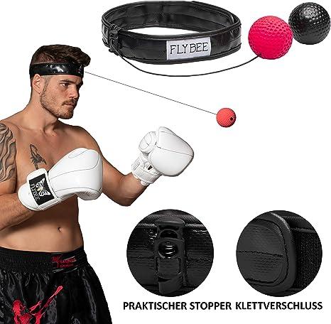 Flybee Sportastic - Juego de 2 Pelotas de Boxeo: Amazon.es ...