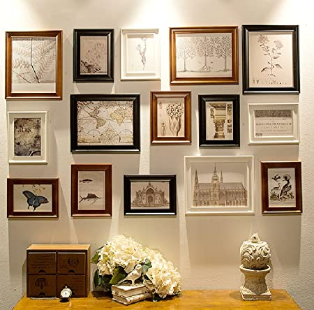 15 Multi Picture Frame Set, Photo Frame, Wall Frame Set with High ...