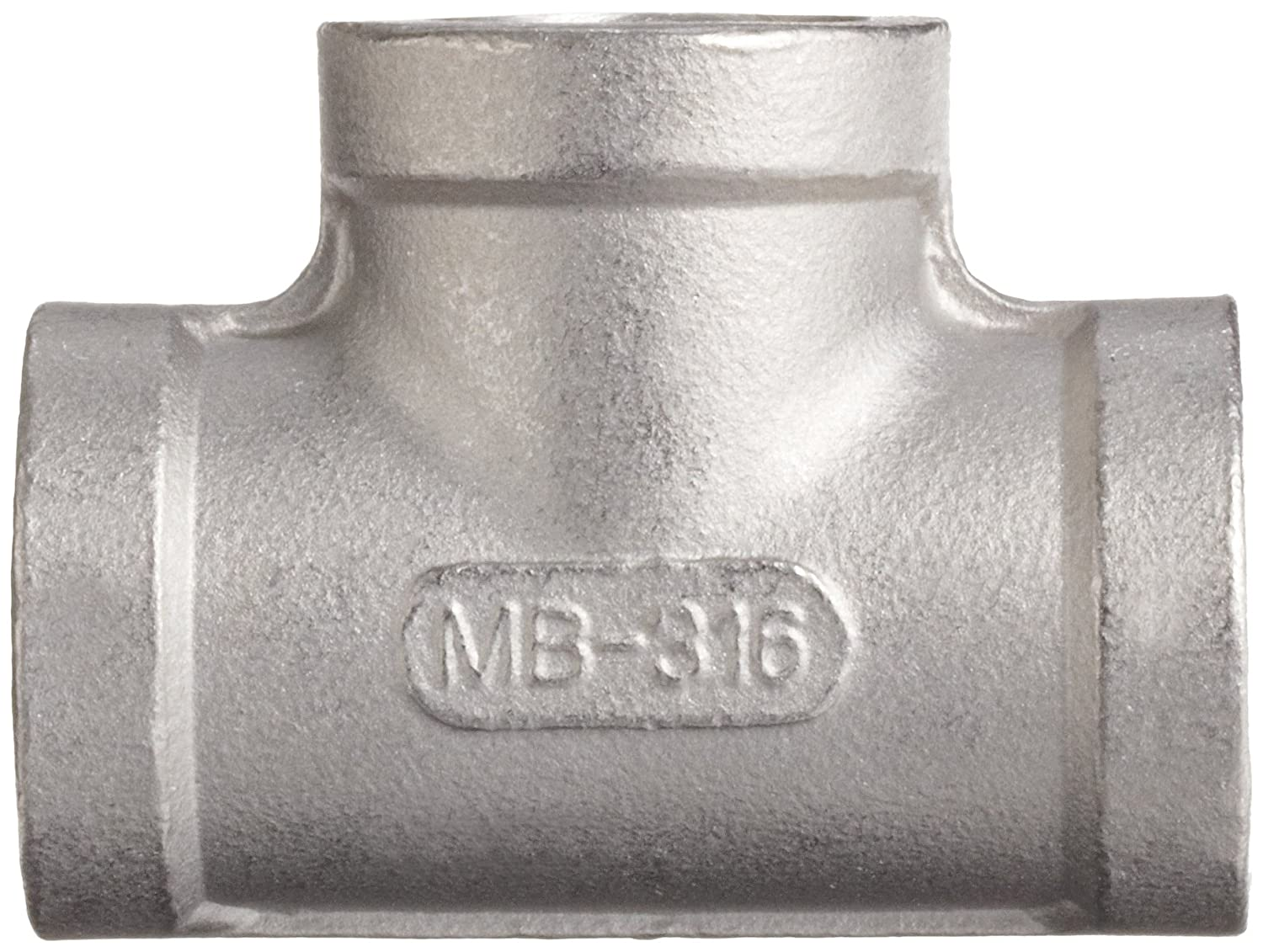 Class 150 Tee Stainless Steel 316 Cast Pipe Fitting 1 NPT Female