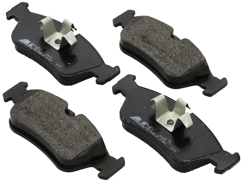 ABS 37436 Pastillas de Freno ABS All Brake Systems bv