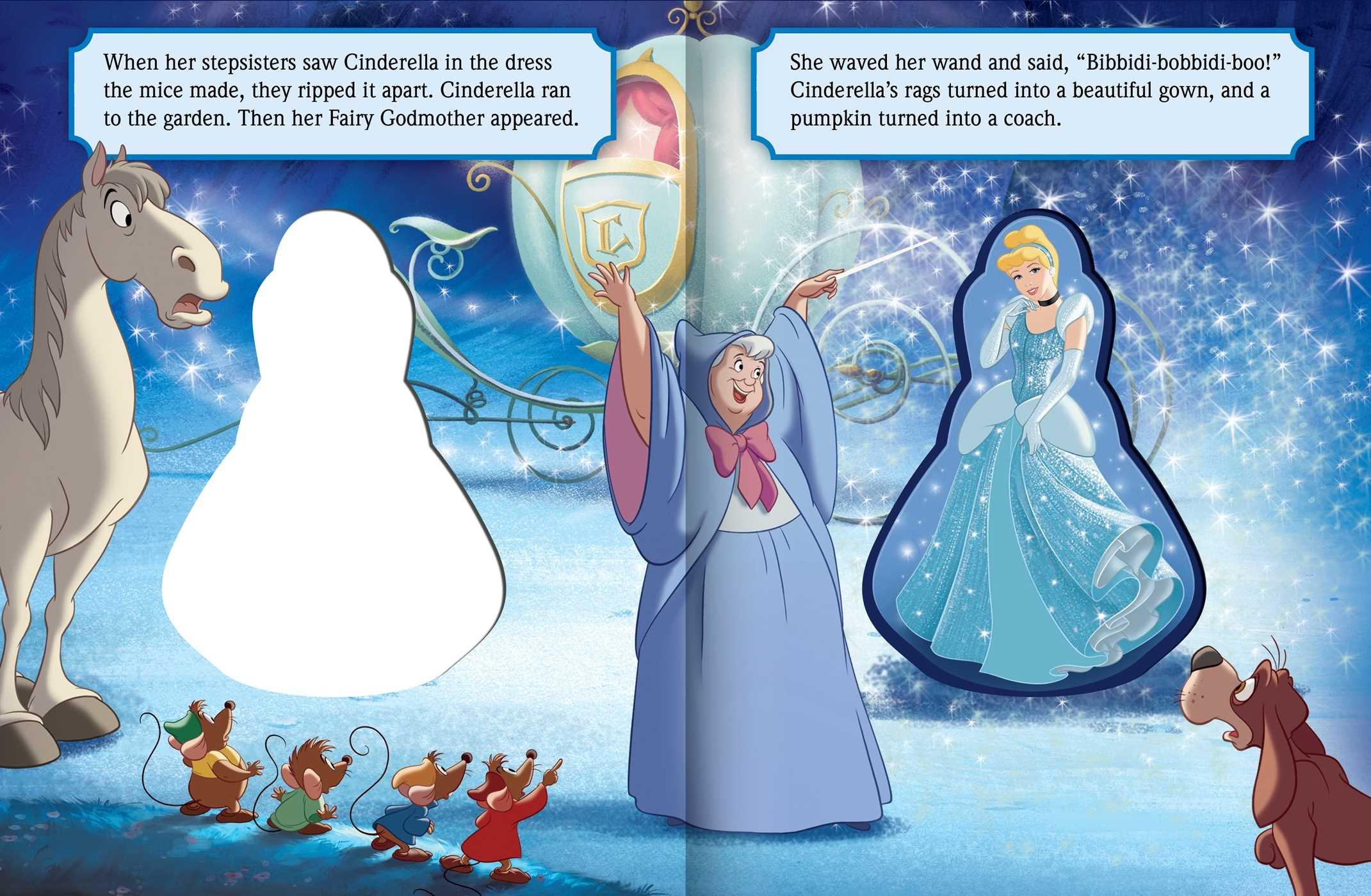 Disney Princess: Bibbidi-Bobbidi Boo!: Disney Princess ...