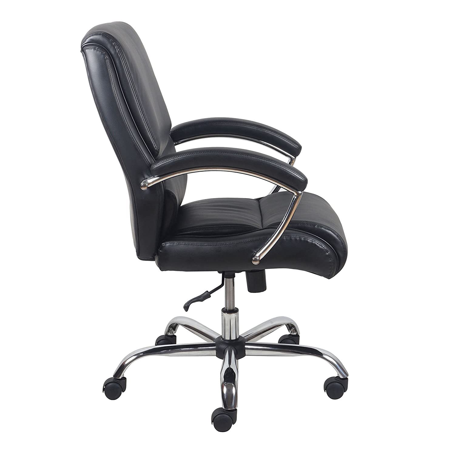 Essentials High Back Leather Executive fice puter Chair with