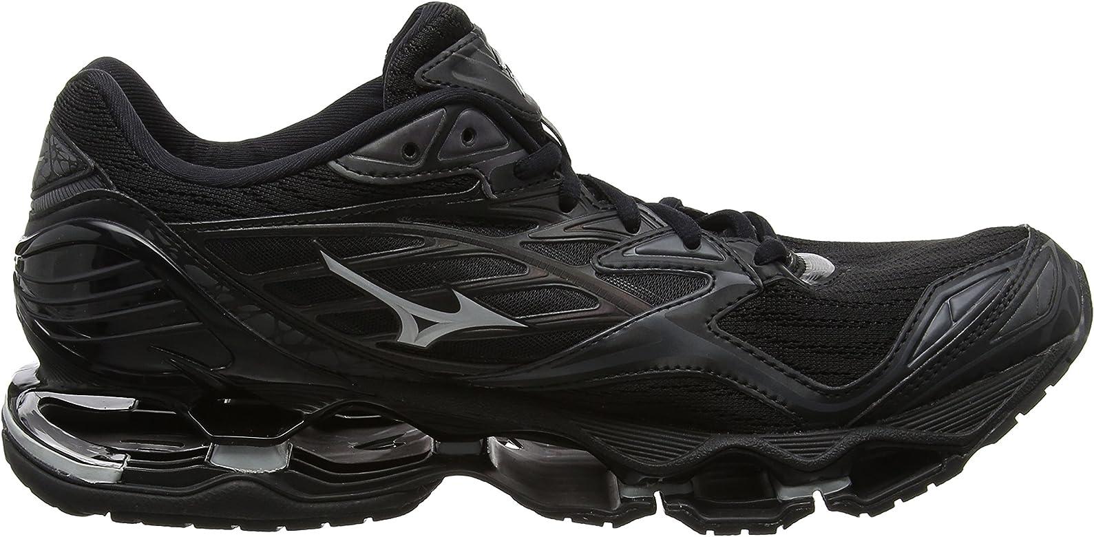 Mizuno Wave Prophecy 6 Nova, Zapatillas de Running para Hombre, Negro (Black/Silver), 46.5 EU: Amazon.es: Zapatos y complementos