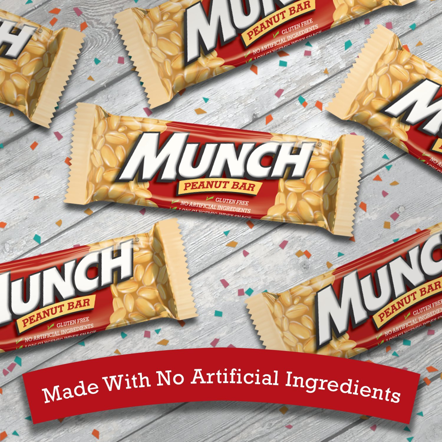MUNCH Peanut Bar Singles Size 1.42-Ounce Bar 36-Count Box by Munch (Image #6)