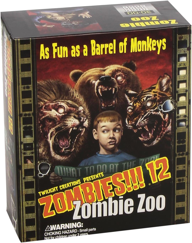 Zombies!! 12: Zombie Zoo - Juego de tablero (Twilight Creations ...