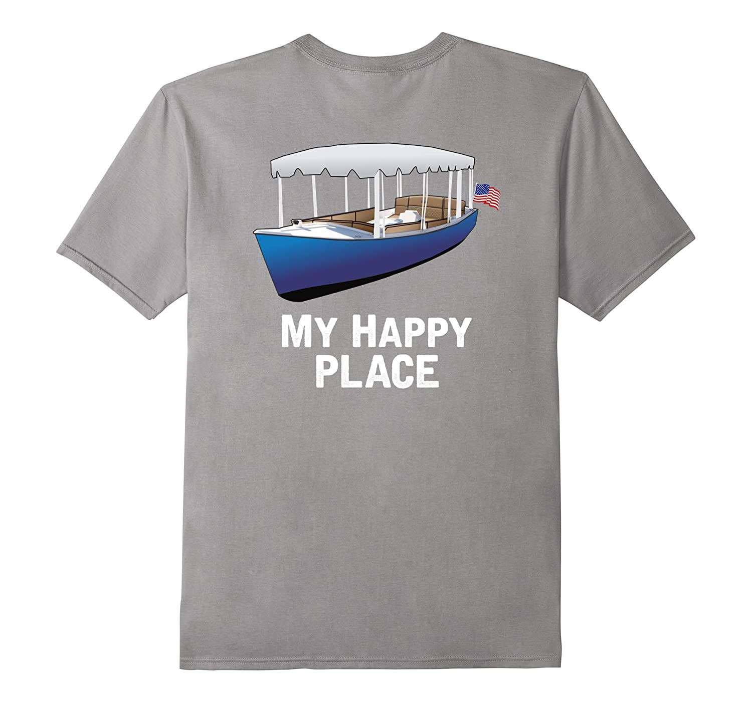 Duffy Boat Is My Happy Place T-Shirt Sailing Boating Yachts-Art