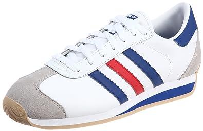 adidas country bianche e blu
