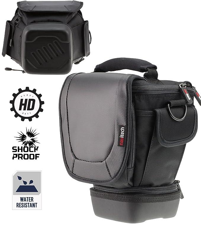Navitech Telescopic Camera DSLR SLR Case Cover Bag for lenses up to 150mm for the Sony Cyber Shot HX400 / HX400V / Sony Cyber Shot DSC H400 / Sony ...