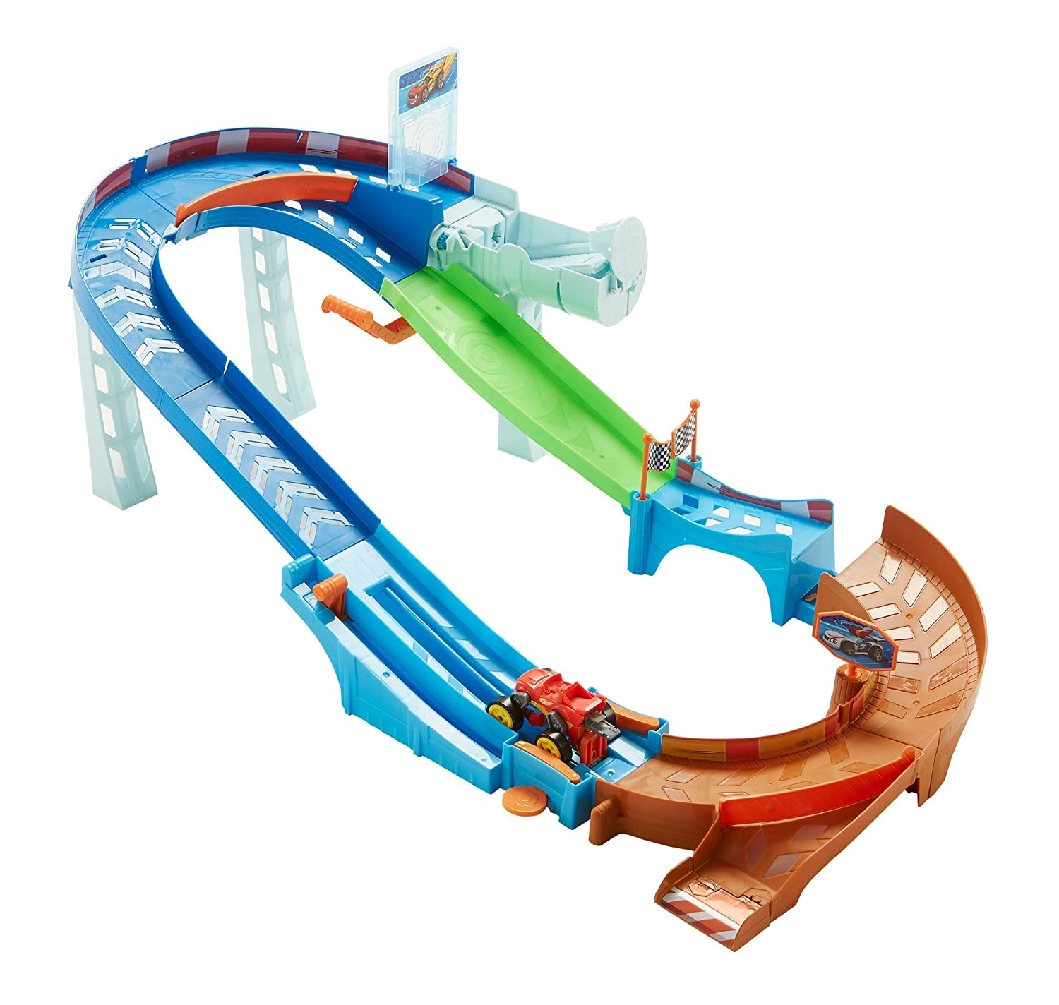 Nickelodeon Blaze and the Monster Machines Flip & Race Speedway