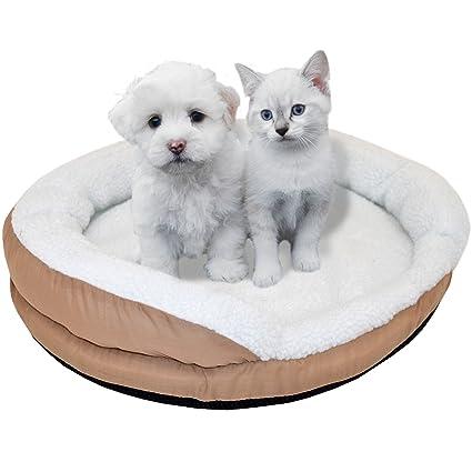 Syntrox Germany calentado de peluche cama 15 vatios 61 x 12 cm Hundebett perros cesta perros