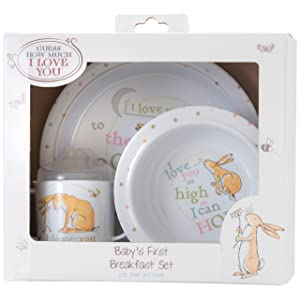 Guess How Much I Love You Breakfast Set, By Rainbow Designs