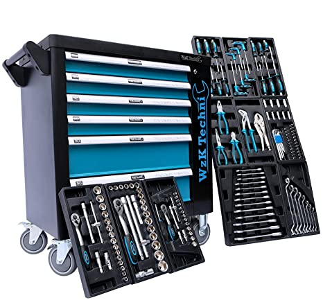 Caja de herramientas para taller de la edición exclusiva Chrono XL con 7 cajones