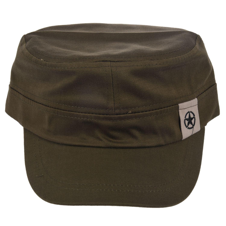 militare hat - TOOGOO(R)Tetto piano militare Hat cadetto Patrol Cappello australiano di baseball cap...