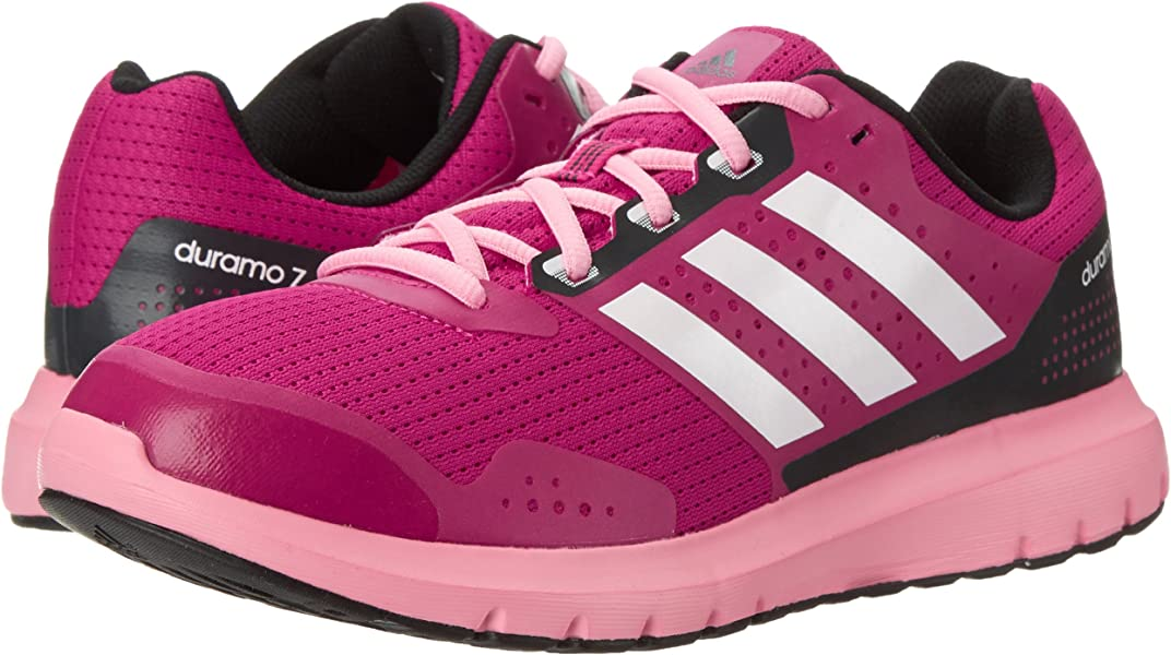 competitive price 6225f a3f7e adidas Performance Women s Duramo 7 W Women s Running Shoe, Pink White Pink,.  Back. Double-tap to zoom