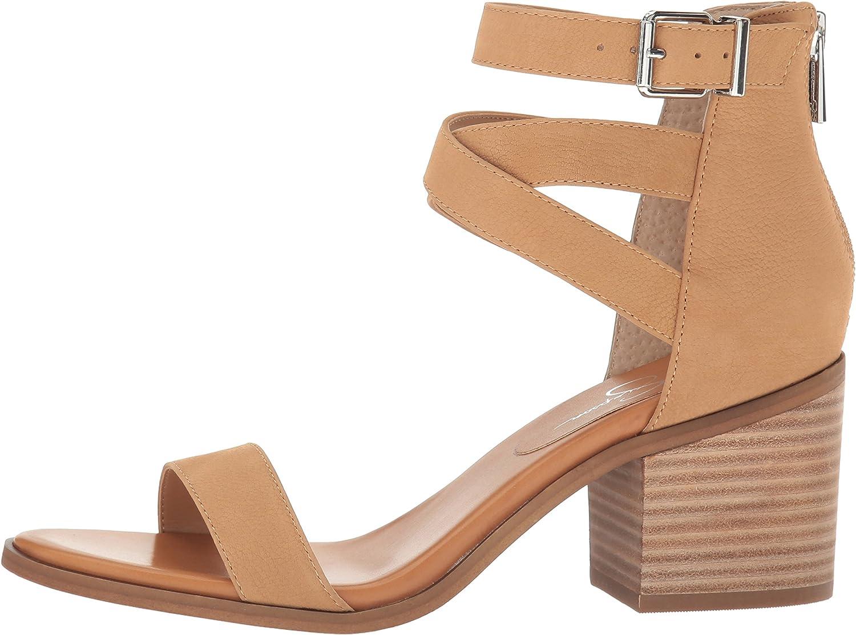Jessica Simpson Womens Rayvena Heeled Sandal