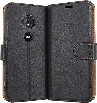Case Collection Funda de Cuero para Motorola Moto G6 Play Estilo ...