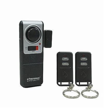 Amazon.com: Dóberman se-0119 a de seguridad alarma con 2 ...