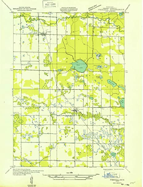 Amazon Com Yellowmaps Freesoil Sw Mi Topo Map 1 31680 Scale 7 5