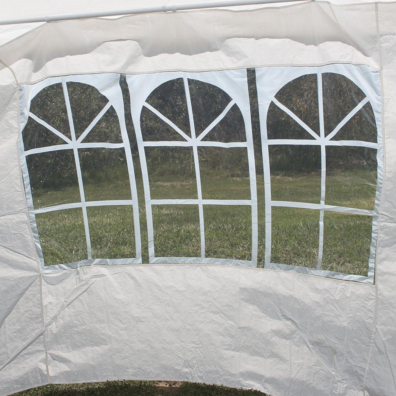 amazon com belleze 10 u0027x30 u0027 canopy party wedding outdoor tent