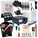 Rehab Ink Complete Tattoo Kit w/ Machine, Power Supply, Needles, 4 Inks & More
