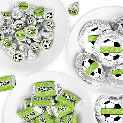 Amazon.com: ¡GOAAAL! Pegatinas redondas de caramelos y ...