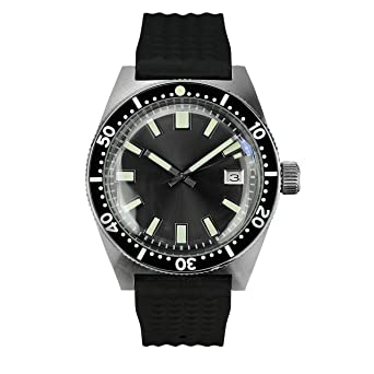 Sharkey NH35A Diver Automatic Wristwatch MarineMaster Man Sapphire Fully Lumed